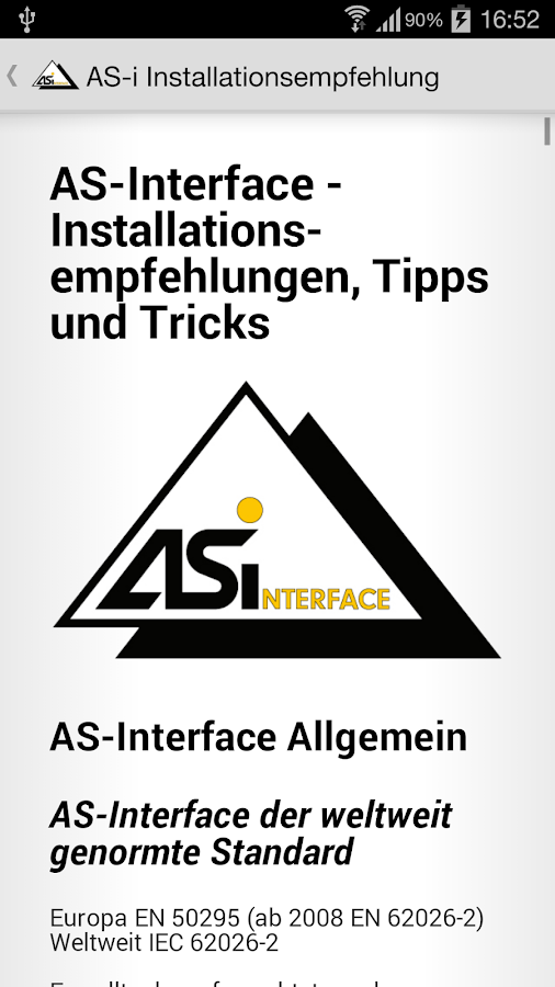 AS-i Installationsempfehlung- screenshot