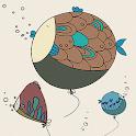 Dangling fish Atom theme icon