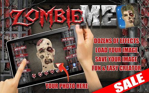 Zombie Me Creepy Photo Edit - screenshot thumbnail