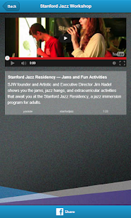 Stanford Jazz Workshop - screenshot thumbnail