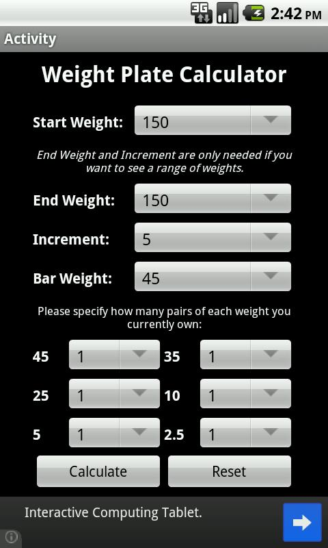 Weight Plate Calculator Apk 1 0 Download Free Health Fitness Apk Download