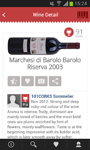 101CORKS, wine cellar&ratings - screenshot thumbnail