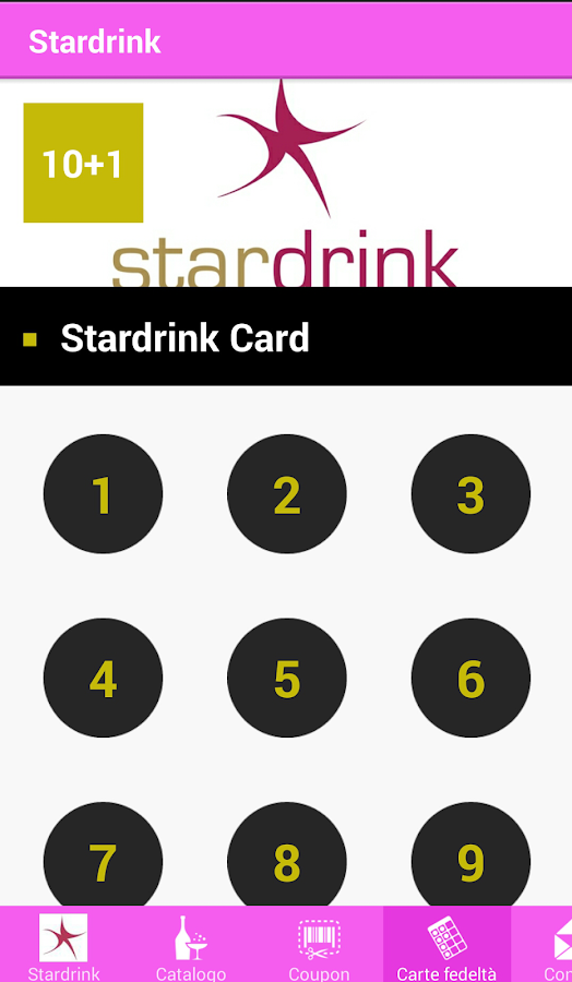 Stardrink- screenshot