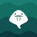 エイのひもの公式ライブ壁紙 WAVE-DeepSea icon