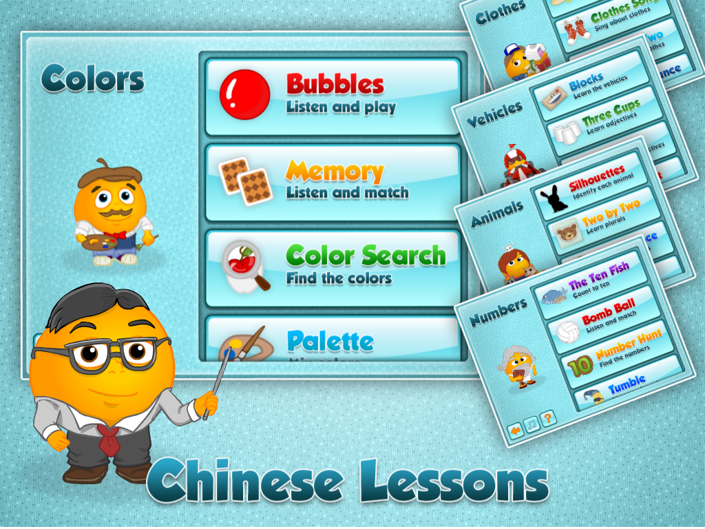 Fun Chinese Learning Games - screenshot