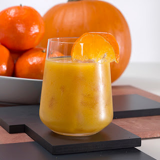 Pumpkin Punch with Cinnamon-Infused Rum