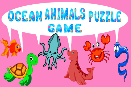 Ocean Animals Puzzle Game