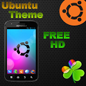 Ubuntu tema GO Launcher EX icon