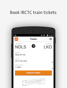 Flight Hotel Indian Rail IRCTC - screenshot thumbnail