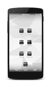 Shining Blue Icon Pack v1.0