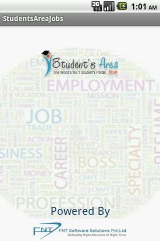 Students Area Jobs