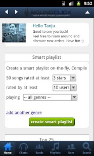 SoundClick- screenshot thumbnail
