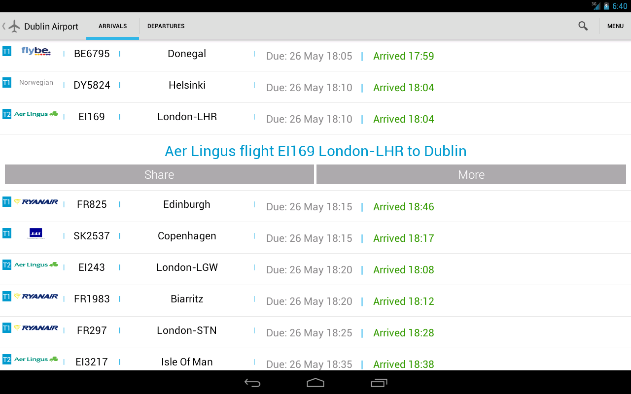 Flight Check Ireland - screenshot