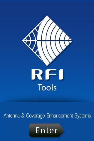 RFI Tools- screenshot