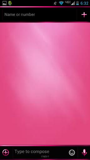 Pink SMS Pro Theme