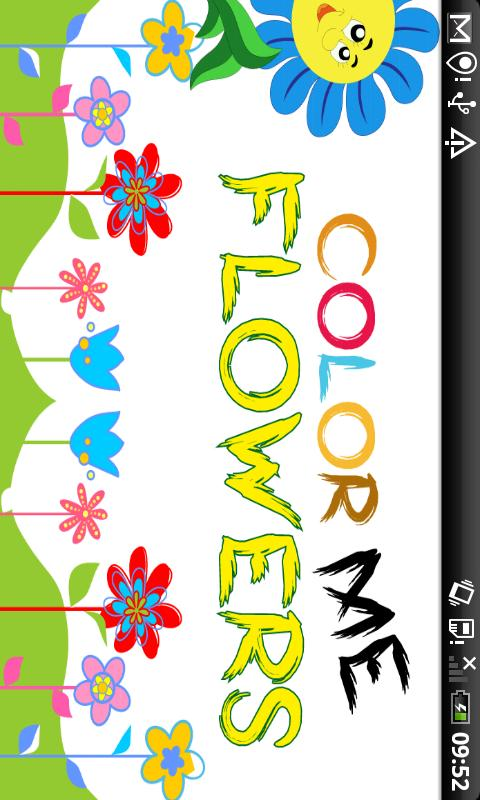 Color Me Flowers-Kids Fun Game - screenshot