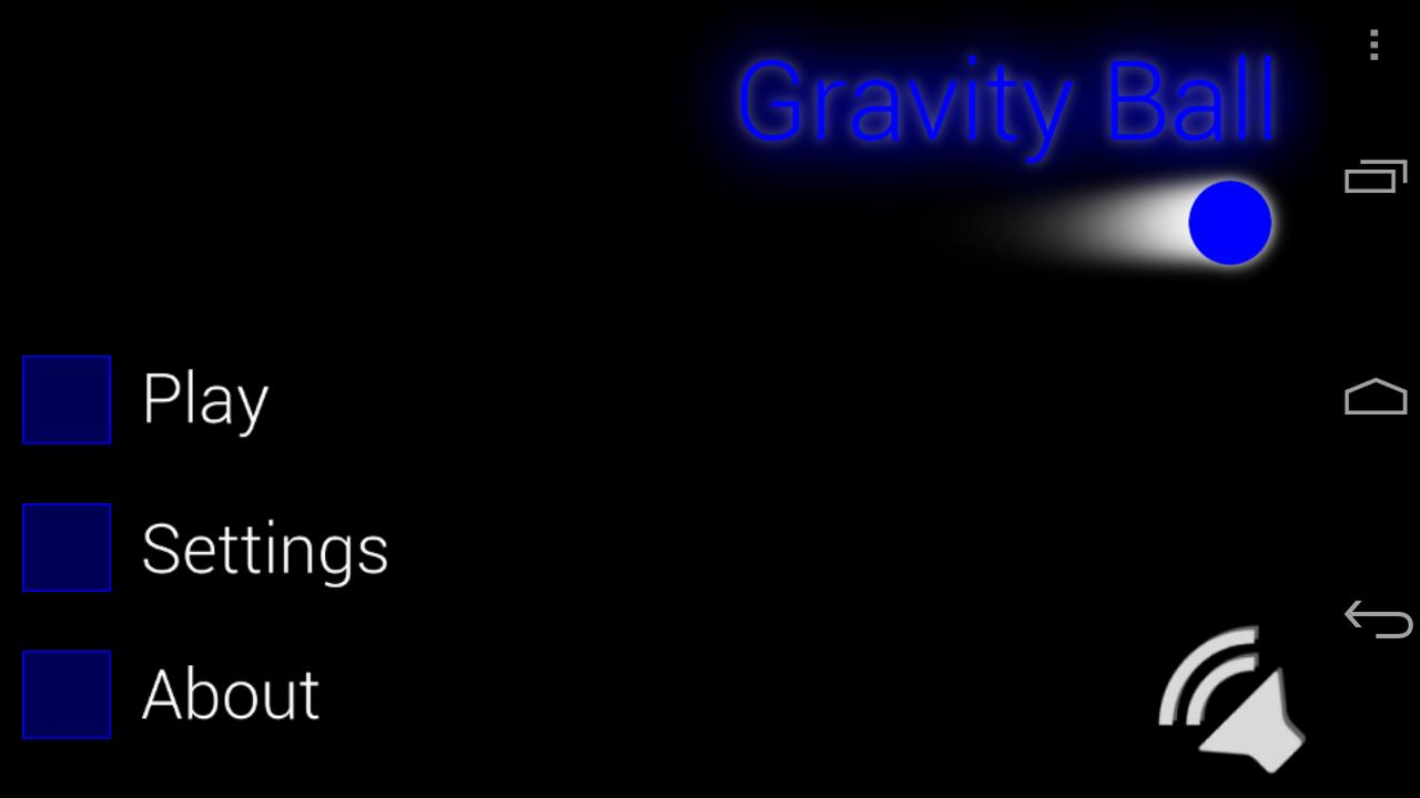 Gravity Ball - screenshot