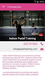 Indoor Padel Training- screenshot thumbnail