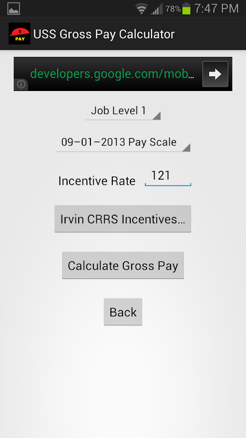 how to find gross pay