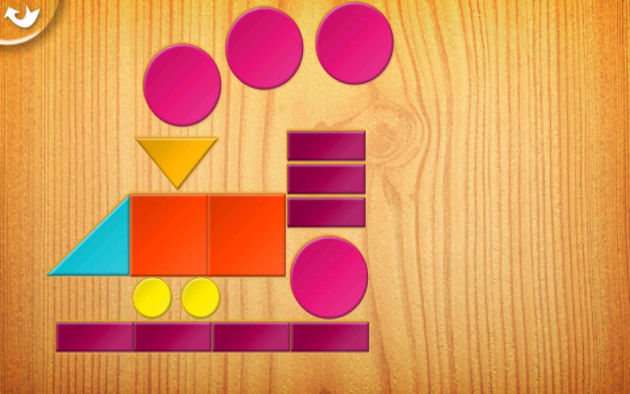 Kids Tangrams - screenshot