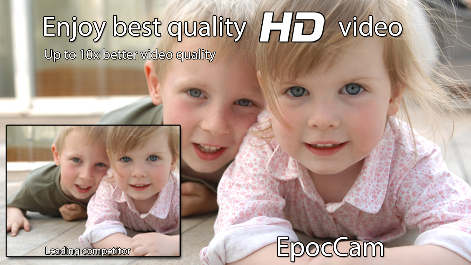 EpocCam - Wireless HD webcam - screenshot