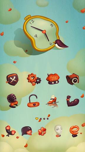 ANNA GO Launcher Theme