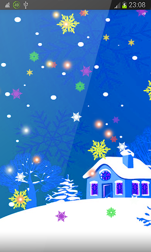 Frosty Snowmen New Year HD LWP