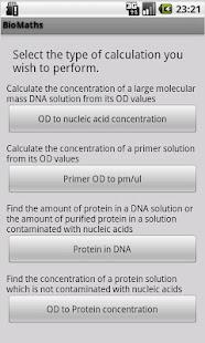BioMaths- screenshot thumbnail
