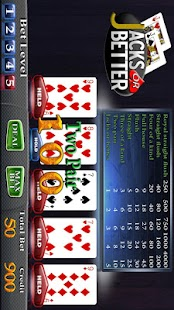 Jacks or Better Video Poker- screenshot thumbnail