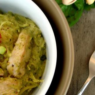 Pistachio Pesto Chicken Pasta
