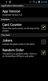Pack of Cards - screenshot thumbnail