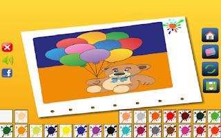 Screenshot of Drawing Coloring Game