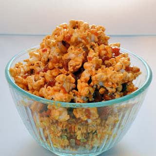 Salted Caramel and Bacon Popcorn