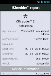 iShredder 3 PRO - screenshot thumbnail