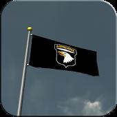 101st AB Flag Live Wallpaper