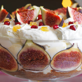 Fig And Ginger Trifle.