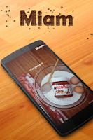 Screenshot of Miam : nutella® (recettes)