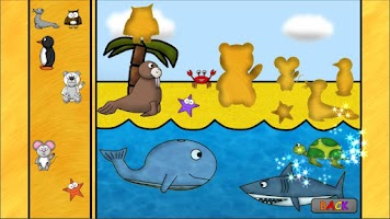 Screenshot of Animal Games for Kids: Puzzles