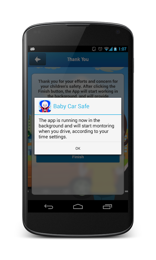 Baby Car Safe- screenshot