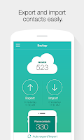 Screenshot of Naver Contacts & Dial