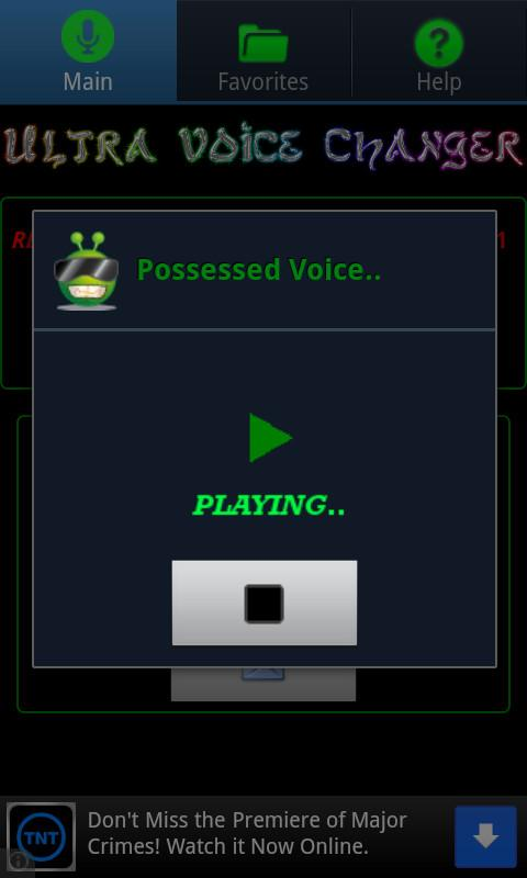 Ultra Voice Changer - screenshot