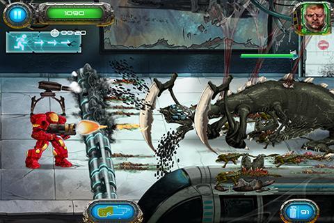 Soldier vs Aliens screenshot #4