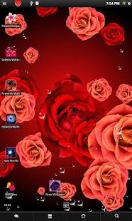Roses PRO live wallpaper screenshot