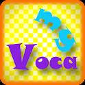 영어 단어 학습장 My Voca logo