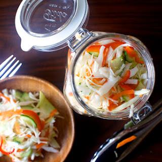 Pickled Cabbage Salad
