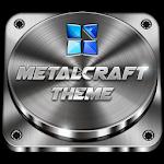 Next Launcher Theme Metalcraft