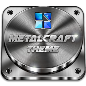 Next Launcher Theme Metalcraft 個人化 App LOGO-APP試玩
