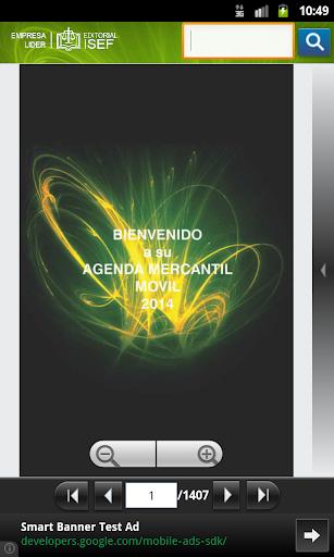 Agenda Mercantil Isef 2014