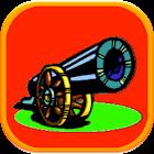 Zielen und schießen icon