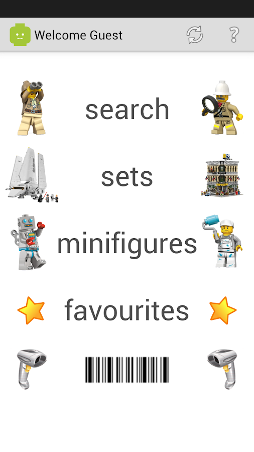 myBrickset: LEGO® Set Guide - screenshot